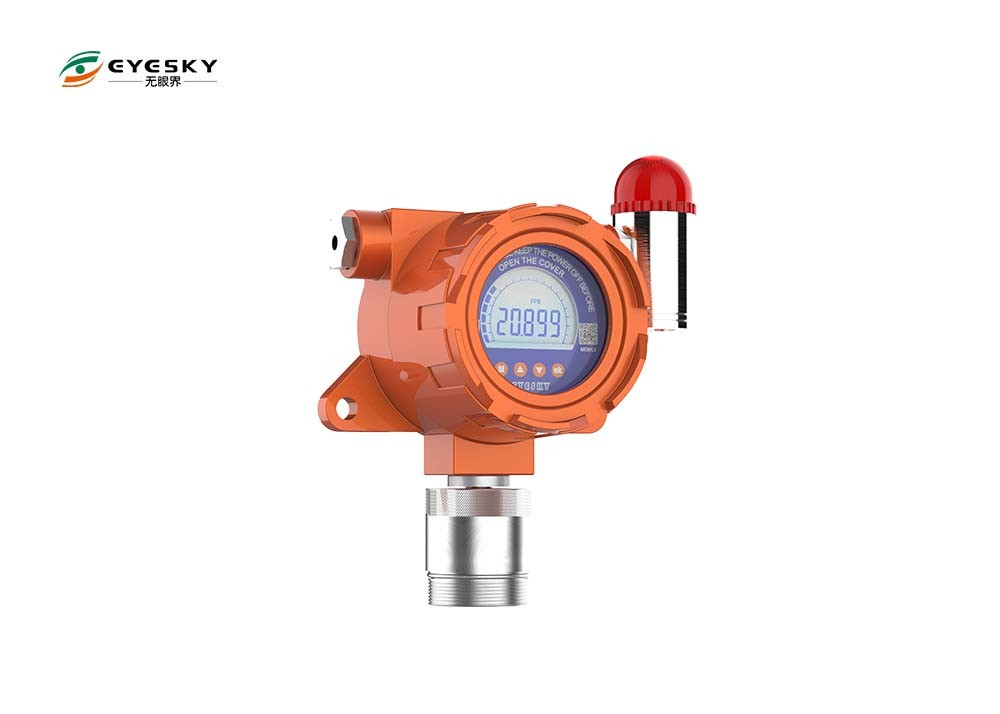 Electronic Gas Leak Detector With Electrochemical Sensor Transmit Less Than 2000M